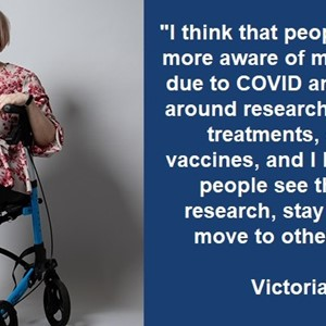 Victoria Bartle: promoting health research