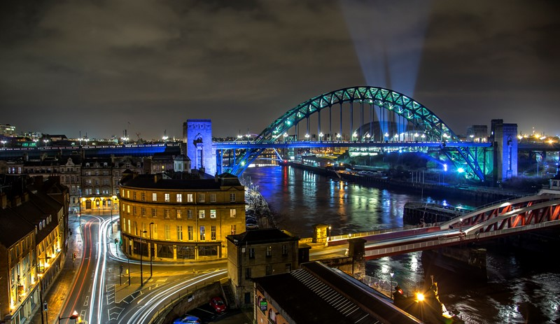 Newcastle named as a top UK smart city