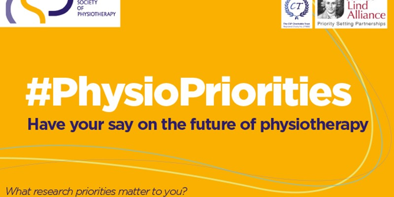 Physiotherapy Research Priorities: Have your say on the future of physiotherapy