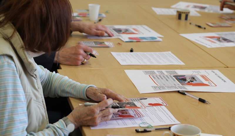 Influencing design: Voice North Osteoarthritis Workshops