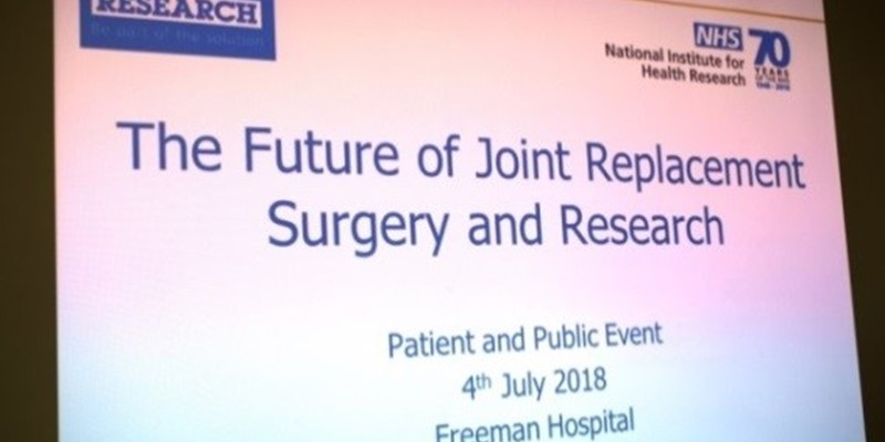 The future of joint replacement surgery and research